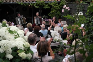 tuinconcert accordeon melancolique